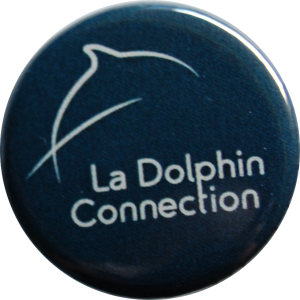 Badge Logo La Dolphin Connection